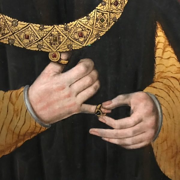 King Richard III, King, Royal garments, fashion in paintings, fashion history, men rings, national portrait gallery, london