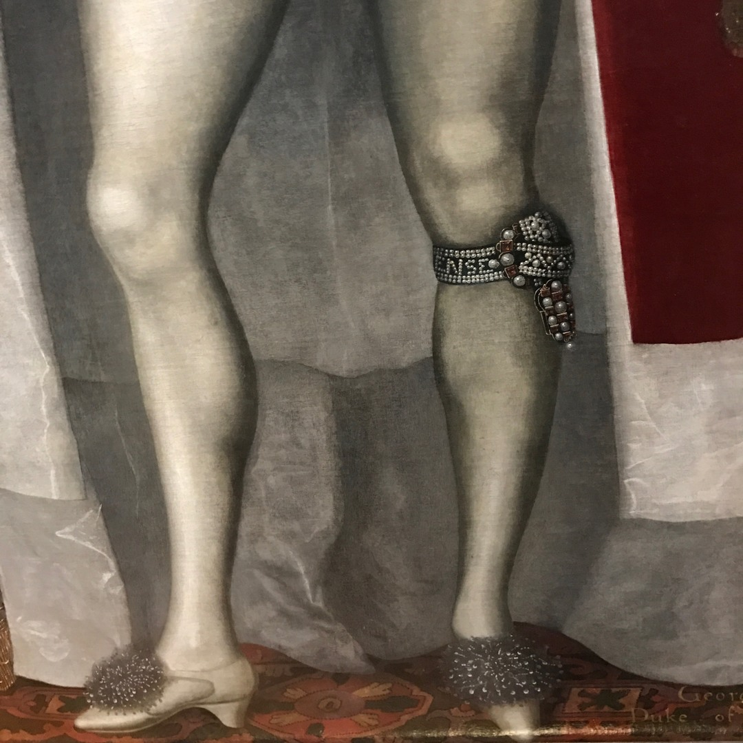 William larkin, George Villiers, fashion in art, fashion in paintings, fashion history, men tights, national portrait gallery