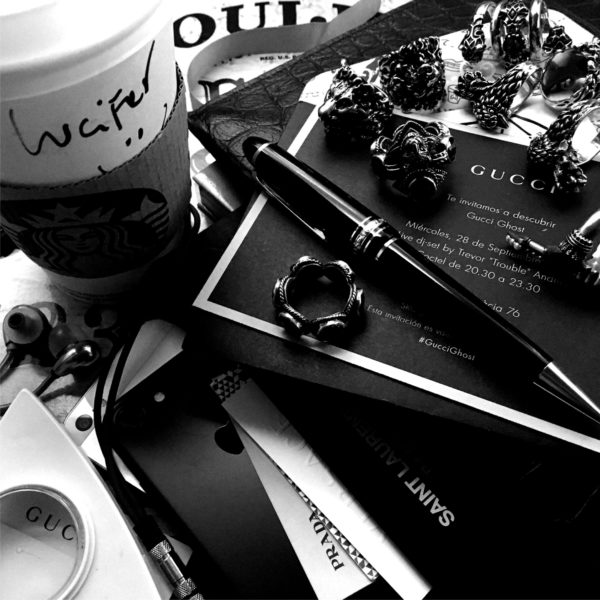 Gucci Ghost, Troubled Andrew, Starbucks, Montblanc