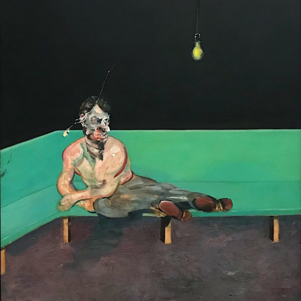 francis bacon, all too human, tate britain, iconic contemporary painter, painful portrait,