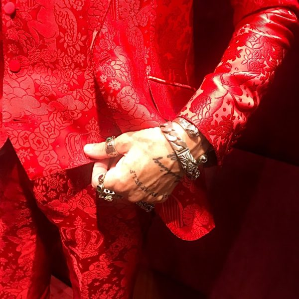 red suit, men in red, jacquard suit, dolce gabbana, italian tailoring, lucifer style, about men fashion,