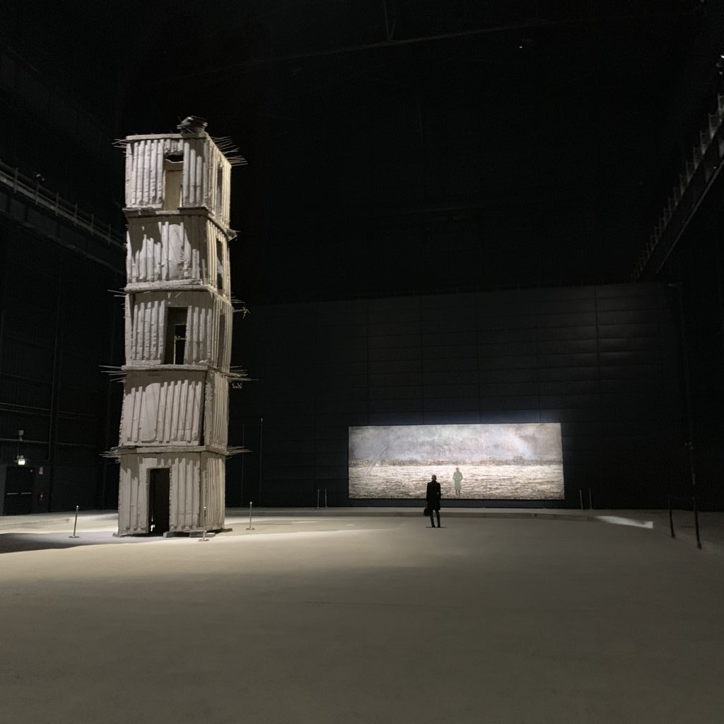 anselm kiefer, irelli hangar biccoca, art space, milan art,