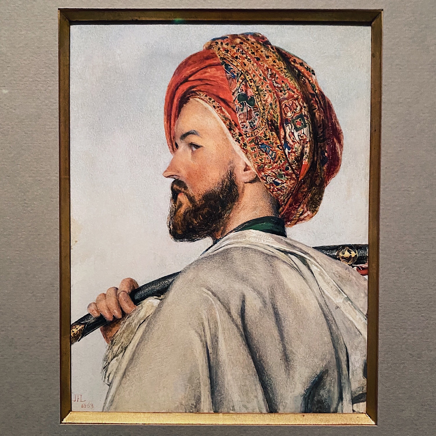turban style, men fashion history, fashion history, men fashion blog, lucifer wardrobe, john frederick lewis,