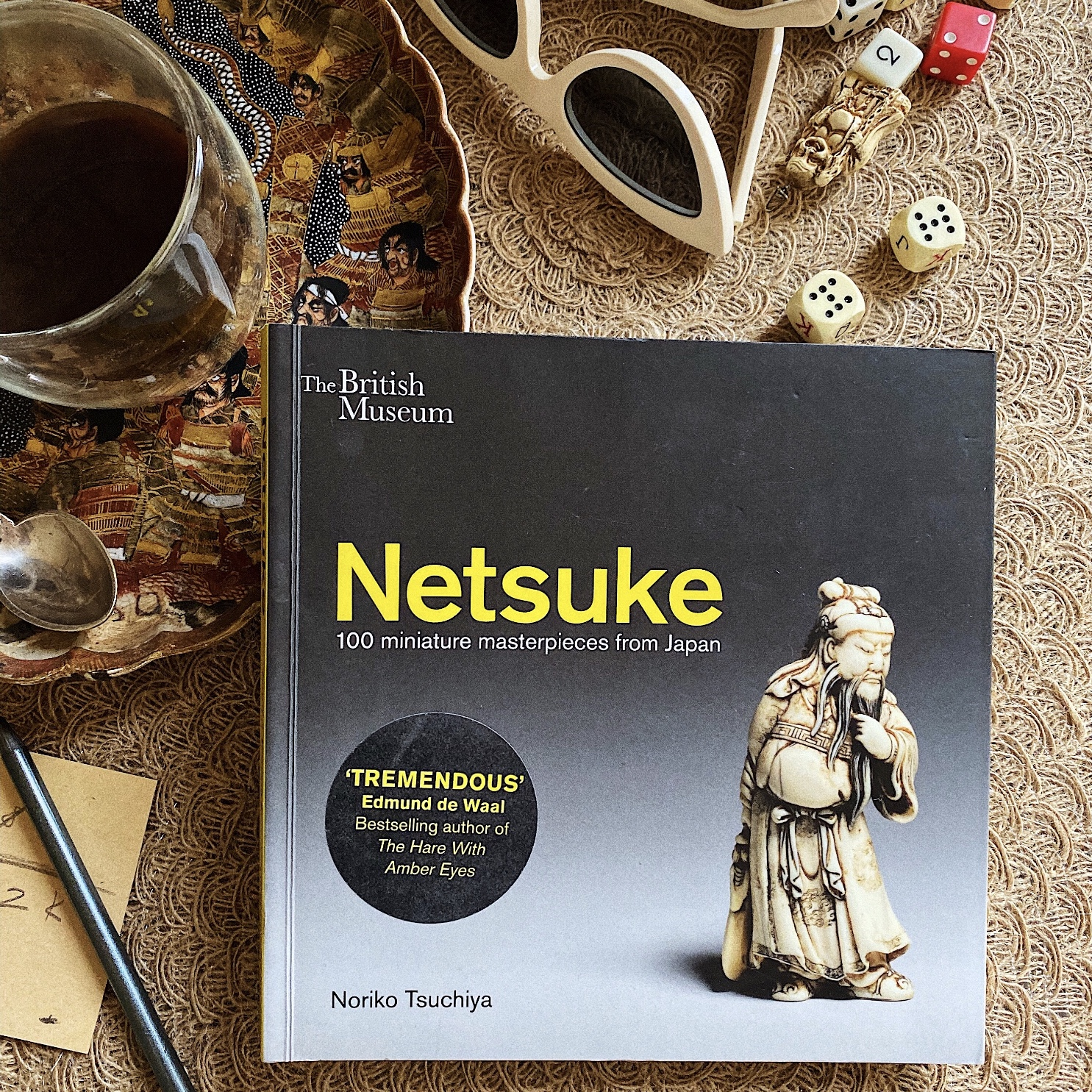 a book about netsuke